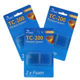Filtre aquarium TC-200 mousse - Filter Foam - Aquatlantis (lot de 3)