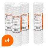 Cartouche SW-01-978-PP sédiment bobinée 9''7/8 - Filtre 1 µm - Crystal Filter® (lot de 4)