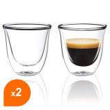 Tasses à café / expresso en verre double paroi - Filter Logic® CFL-655B