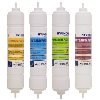 Lot de cartouches Hyundai Type ''I'' 13'' pour fontaine Hyundai Wacortec