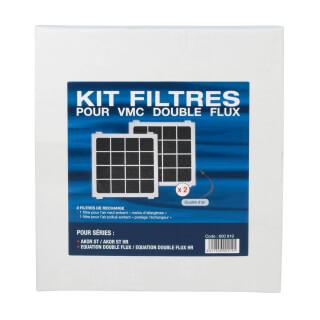 Lot de 2 filtres pour VMC S&P Unelvent® AKOR / EQUATION ST / ST HR - 600919