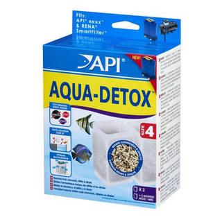 Filtre aquarium API Rena Aqua Detox Size 4 (x2 filtres)