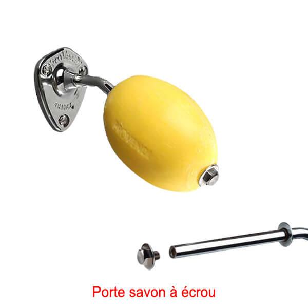 savon jaune rotatif colier provendi avec porte savon vis 002162. Black Bedroom Furniture Sets. Home Design Ideas