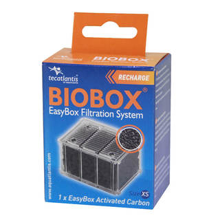 Filtre aquarium Easy box XS charbon granulés - Aquatlantis Biobox