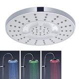Pomme de douche LED Varia - Jet pluie - Douche à l'italienne