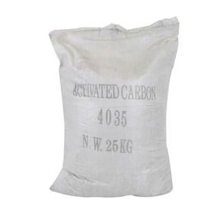 Charbon actif minéral granulés 25 KG