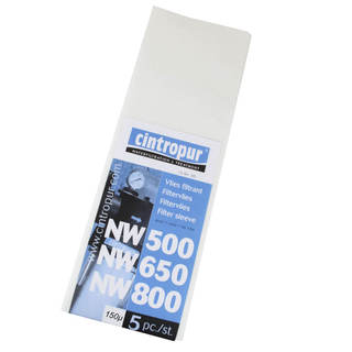 Manchettes filtrantes NW500 / NW650 / NW800 & NW50 / NW62 / NW75 - 150µ pour Cintropur
