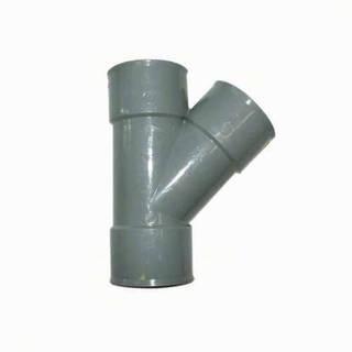 TE Y 45° égal 50 mm PVC évacuation