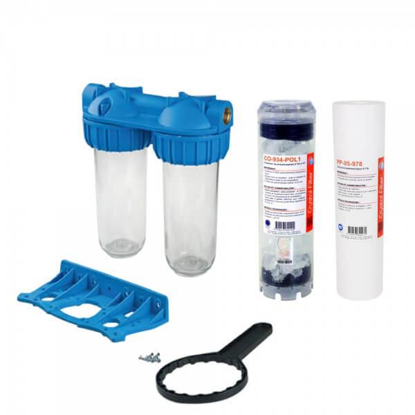 Kit filtration anticalcaire s diment et polyphosphates - Fabriquer goutte a goutte ...