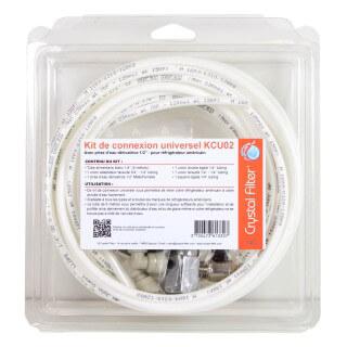 Kit de connexion universel KCU02 pour réfrigérateur - Crystal Filter®