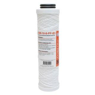 Cartouche SW-10-8-PP-BX sédiment bobinée BX 10'' - 10 µm - compatible FA10BX - Crystal Filter®