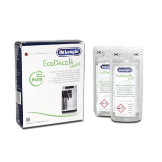 Détartrant liquide EcoDecalk mini machine expresso Delonghi 2x100 ml